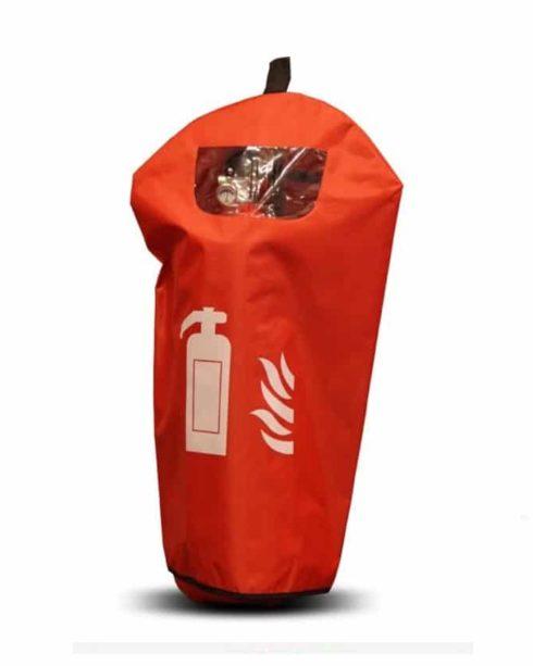 Beskyttelsesovertræk for 6 kg pulverslukker