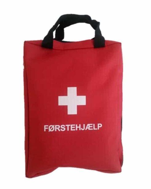 Førstehjælpstaske, meget indhold af høj kvalitet