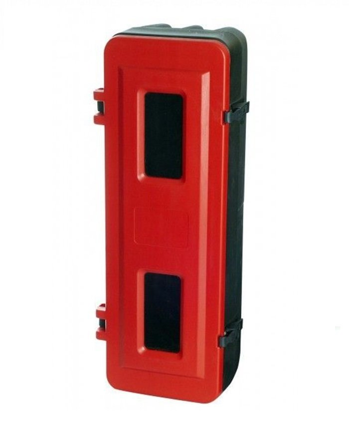 Kunststofskab for 9 - 12 kg brandslukker