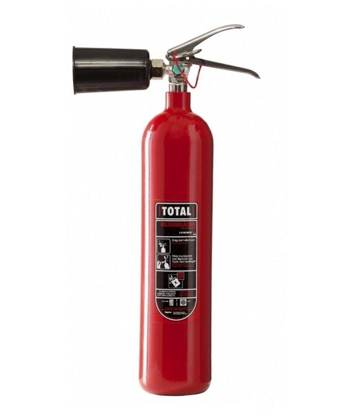 Brand-Tech 2 kg Co-2 slukker - TOTAL