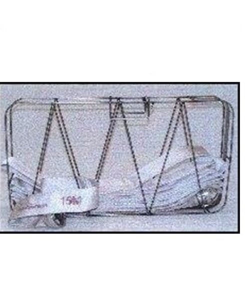 B - C - D-Slangekurve i rustfrit syrefast stål