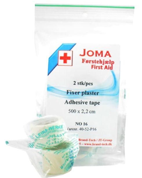 fixer plaster i ruller - førstehjælp